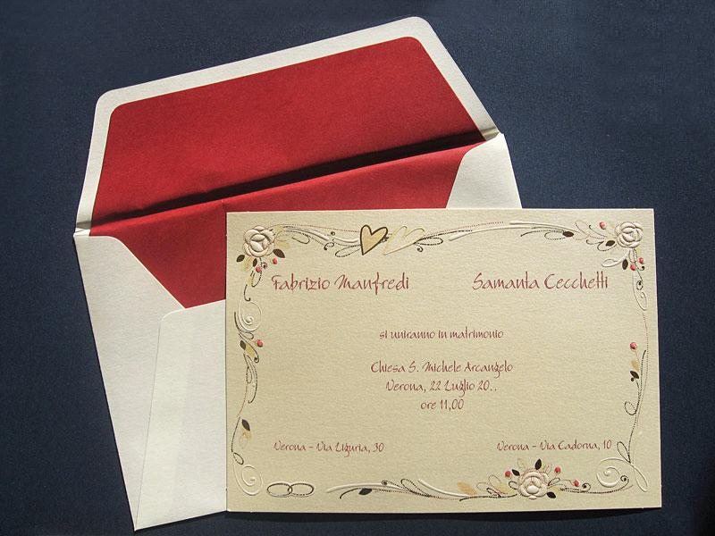 Partecipazioni di Nozze per Sposi, inviti e biglietti comunioni, battesimi, compleanni, cerimonie, Carta Laser