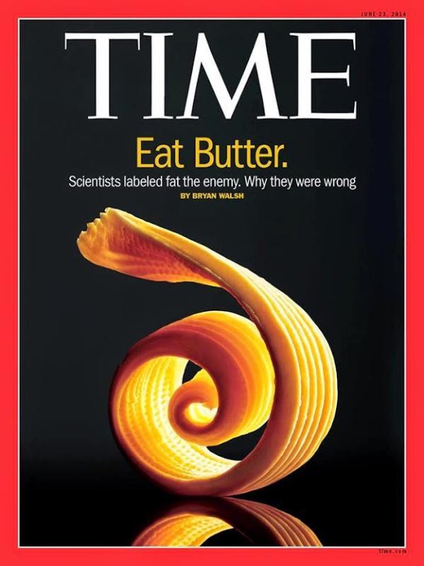 Eat butter.
