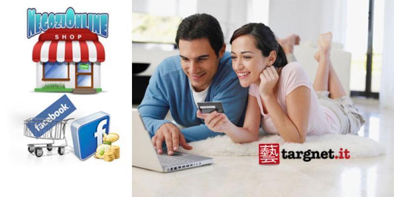 F-commerce: sito web con e-commerce su Facebook